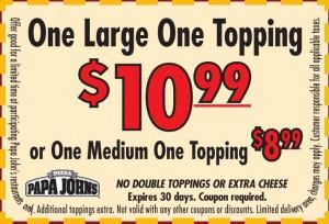 papa johns coupons 2012-2013